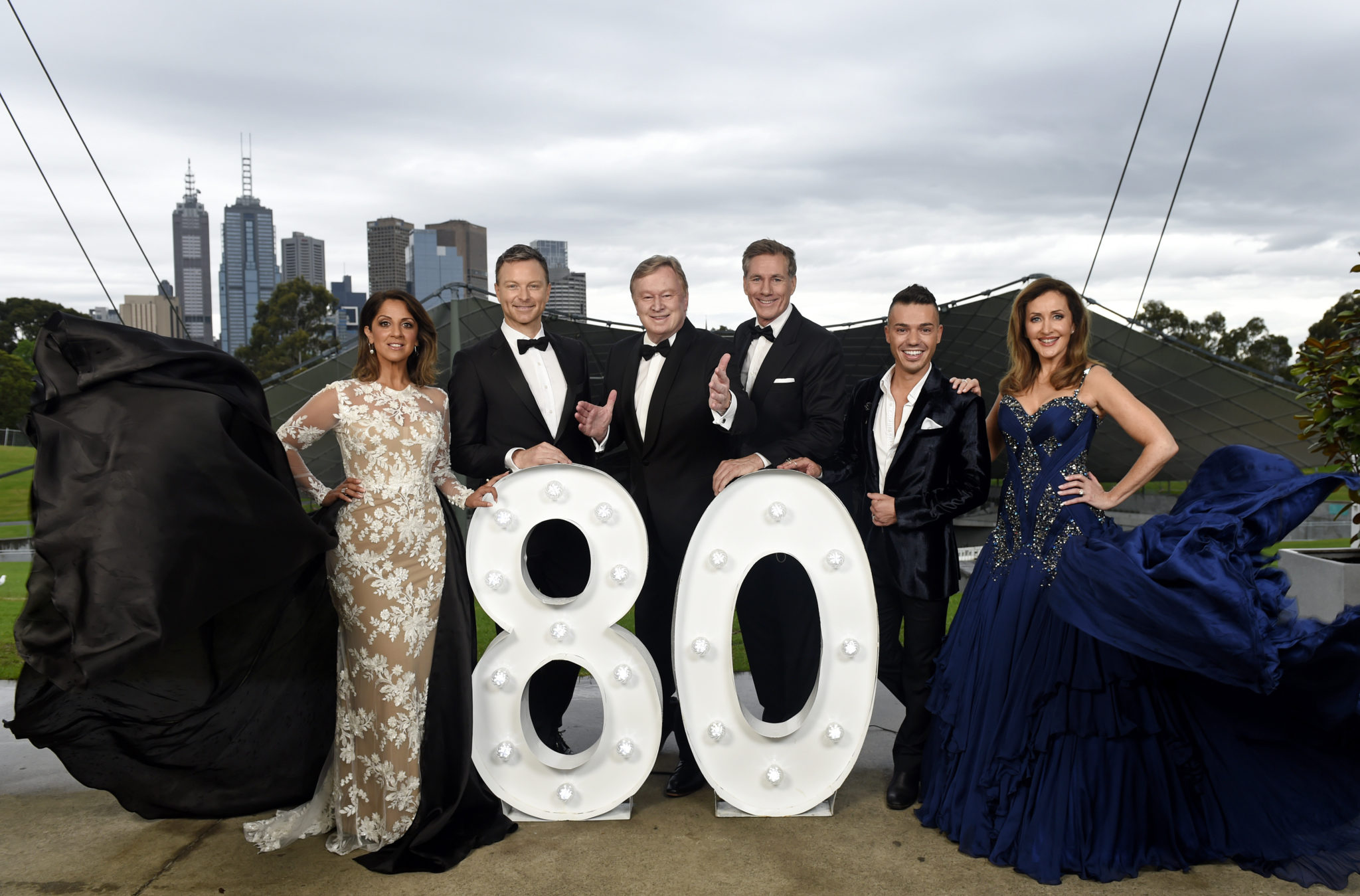 Channel 9 80 years myer Music Bowl
