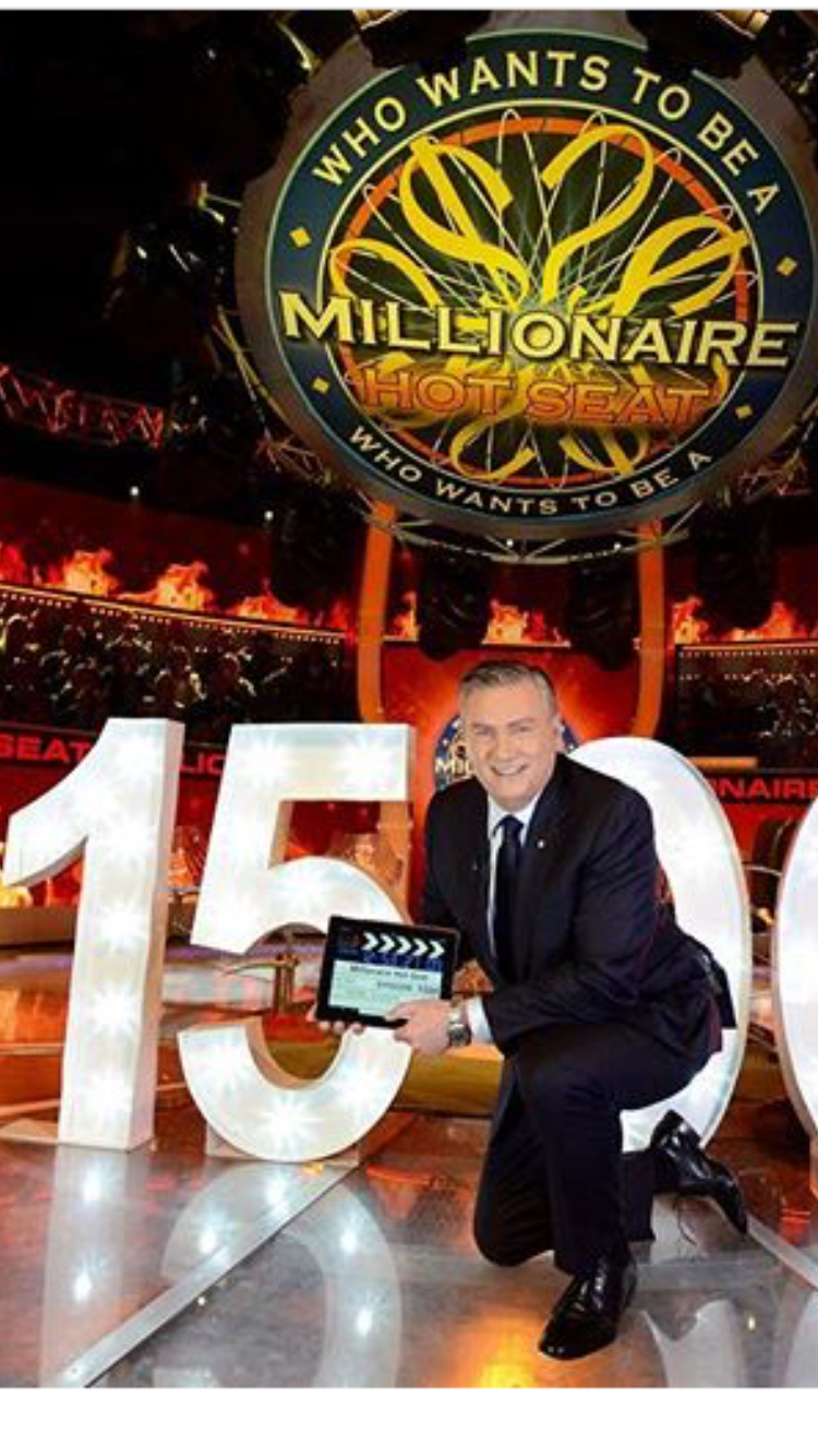 Eddie McGuire who wants to be a millionaire channel 9