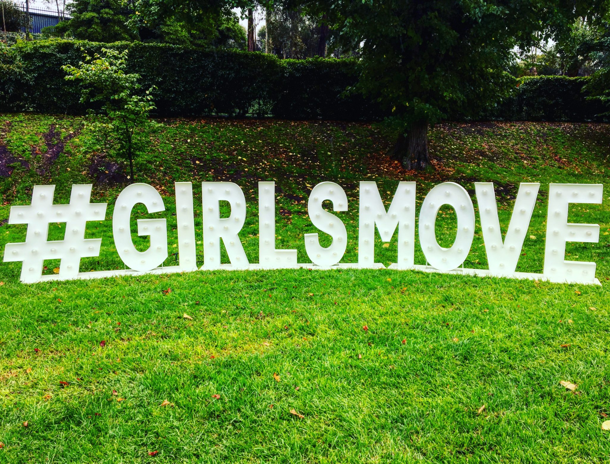 GIRLSMOVE Ladies Run at Flemington
