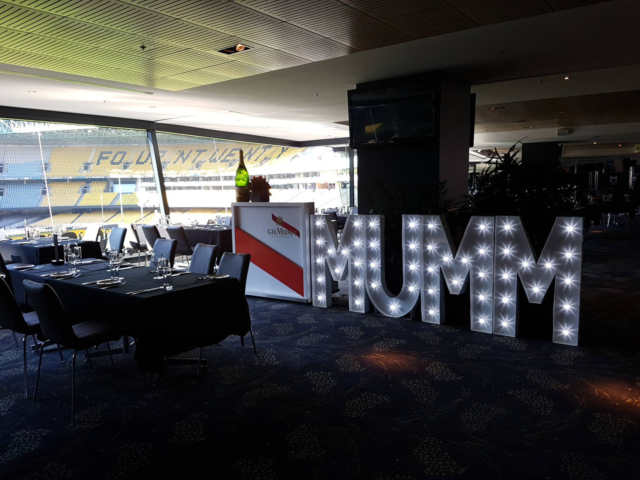 MUMM at Marvel Stadium Diamond Room