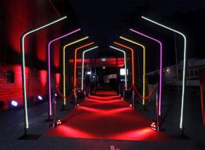Neon Poles