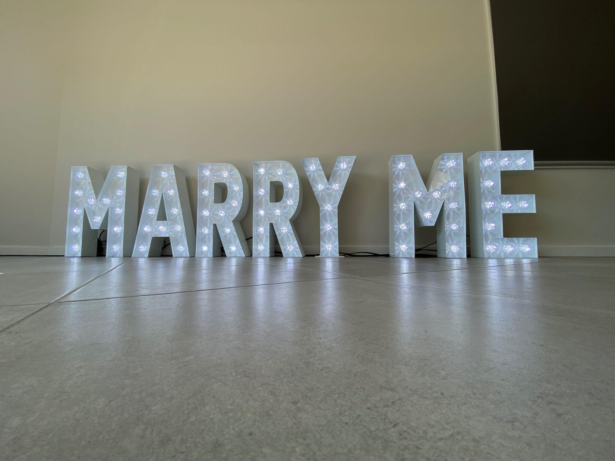MARRY ME 60cm